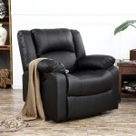 50 Beautiful Photos Of Design Decisions Glamorous Black Leather Living Room Arm Chair Wtsenates Info