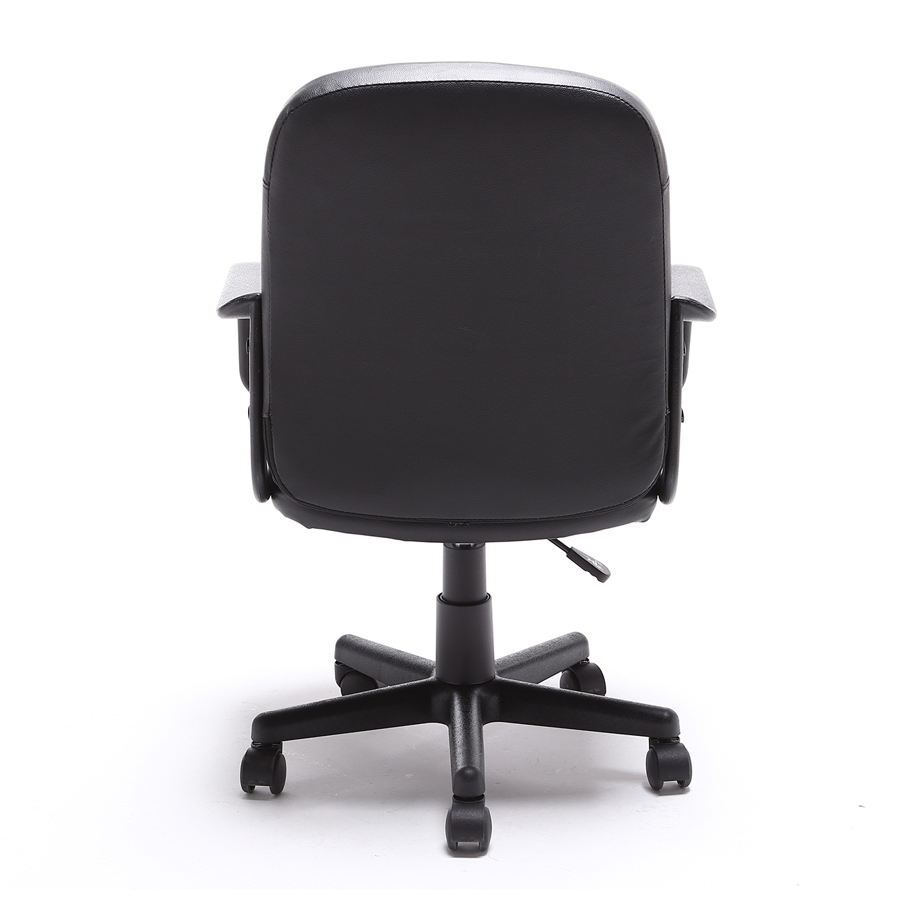 Black Desk Chair Black Modern Office Executive Chair Pu Leather Computer
