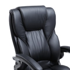 Ergonomic Chair Description Fritz Hansen Black Pu Leather High Back Office Executive Task