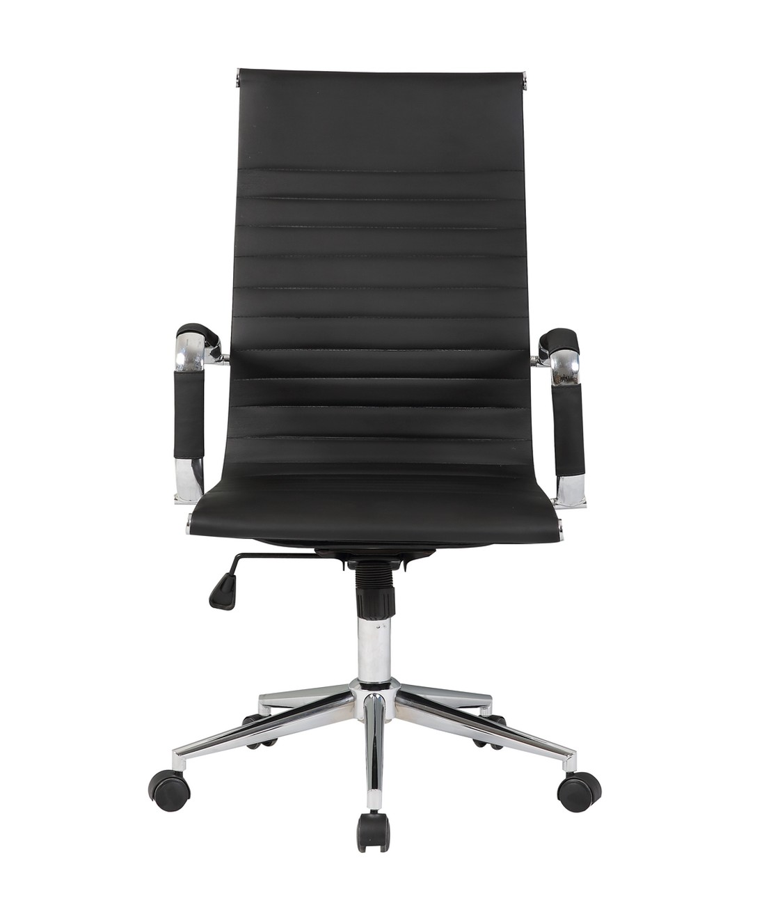 high quality office chairs ergonomic outdoor chair covers walmart ribbed pu leather back executive computer
