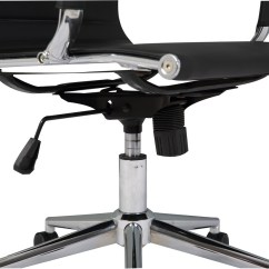 Ergonomic Office Chair Ebay Cost To Rent Covers For Wedding Ribbed Pu Leather High Back Executive Computer