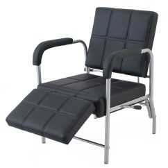 Ergonomic Chair With Leg Rest The Empty Poem Reclining Shampoo Adjustable Barber Beauty