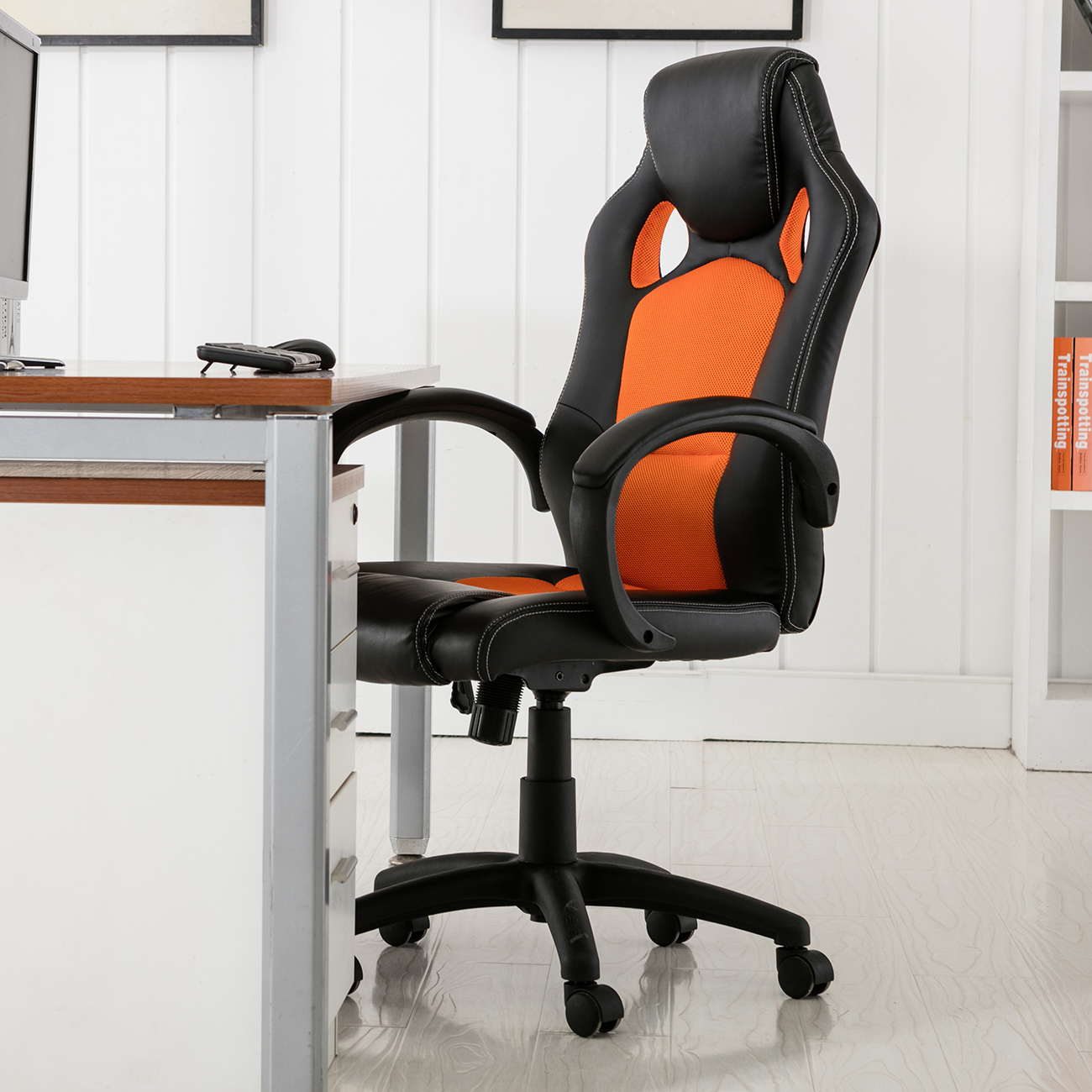Gaming Computer Chairs High Back Race Car Style Bucket Seat Office Desk Chair