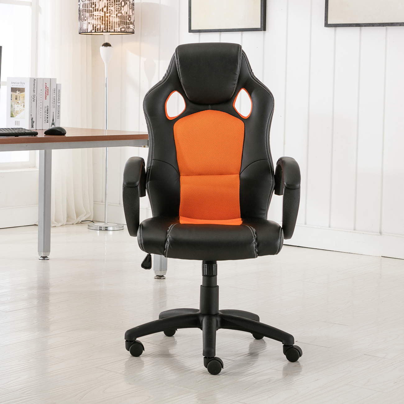 Computer Chairs For Gaming High Back Race Car Style Bucket Seat Office Desk Chair