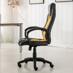 Race Car Office Chair Outside Folding Chairs High Back Style Bucket Seat Desk