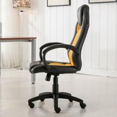 Race Car Desk Chair Swivel Ikea High Back Style Bucket Seat Office