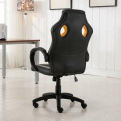 Race Car Chair Officeworks Cover Alternatives Wedding High Back Style Bucket Seat Office Desk