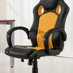 Gaming Chair Ebay Folding Chairs At Home Depot High Back Race Car Style Bucket Seat Office Desk