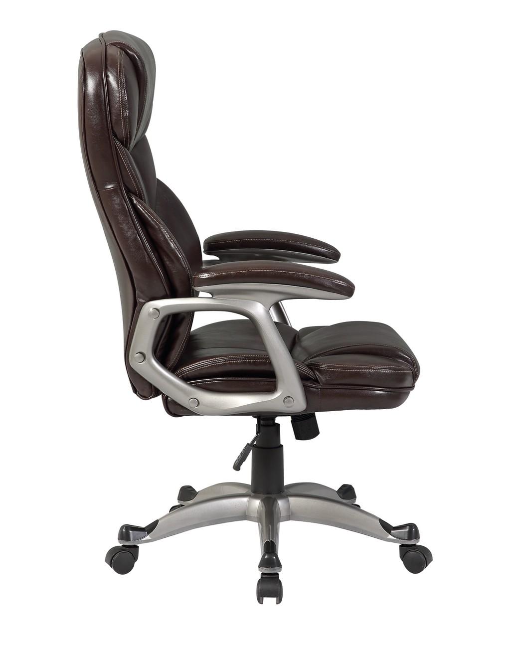 ergonomic chair tilt serta warranty executive office pu leather high back desk