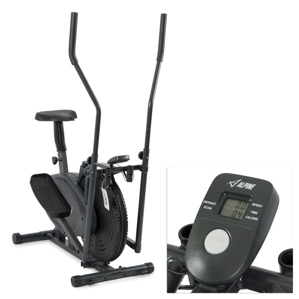 Akonza Elliptical Bike 2 In 1 Cross Trainer Exercise Fitness Machine Home Gym