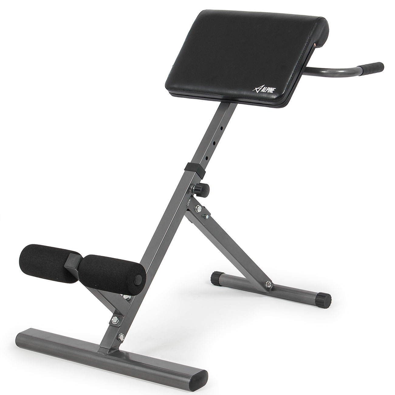 ab cruncher chair 2 person camping adjustable back bench foldable hyperextension exercise