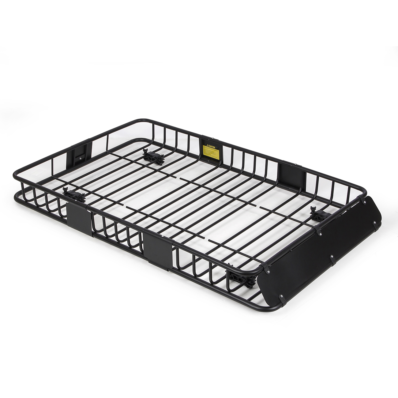 "64"" Universal Black Roof Rack Cargo Carrier w/ Extension"