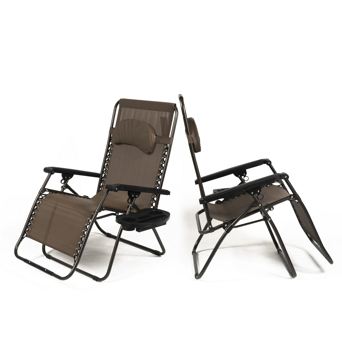 NEW Set of (2) Zero Gravity Chair XL Oversize Chairs