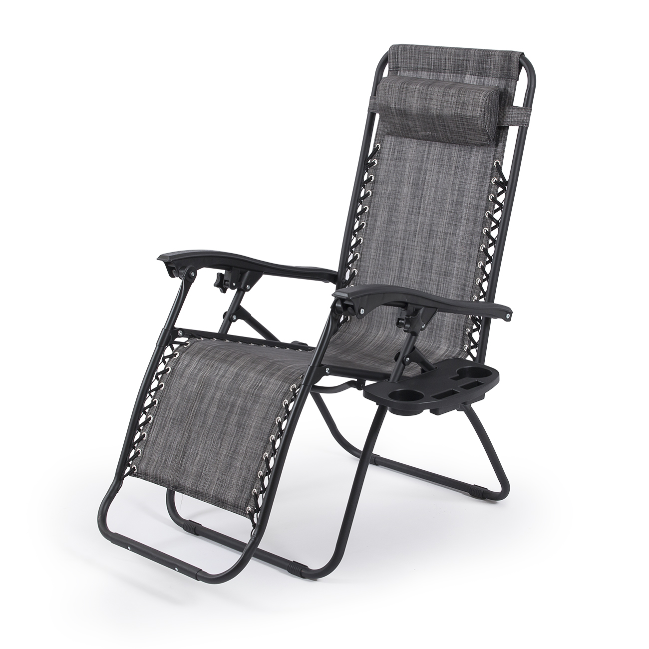 Lightweight Folding Beach Lounge Chair 2 Outdoor Zero Gravity Lounge Chair Beach Patio Pool Yard