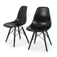 Eames Style Plastic Chair Folding Pepperfry 2x Dsw Molded Abs Side Eiffel Dowel Wood Leg