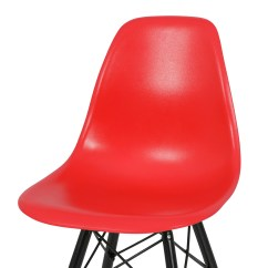 Eames Style Plastic Chair Table Covers Wedding 2x Dsw Molded Abs Side Eiffel Dowel Wood Leg