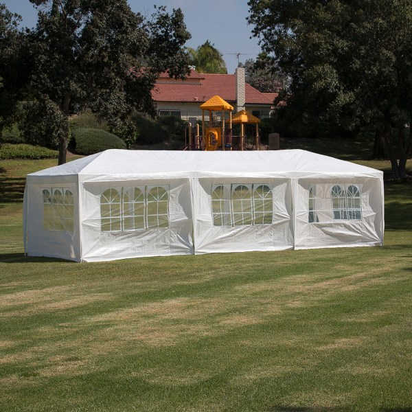 10 X 30 Wedding Party Tent Canopy with 5 Sidewalls