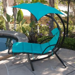 Hammock Chair With Canopy Diy Metal Covers Hanging Chaise Lounge Swing Glider