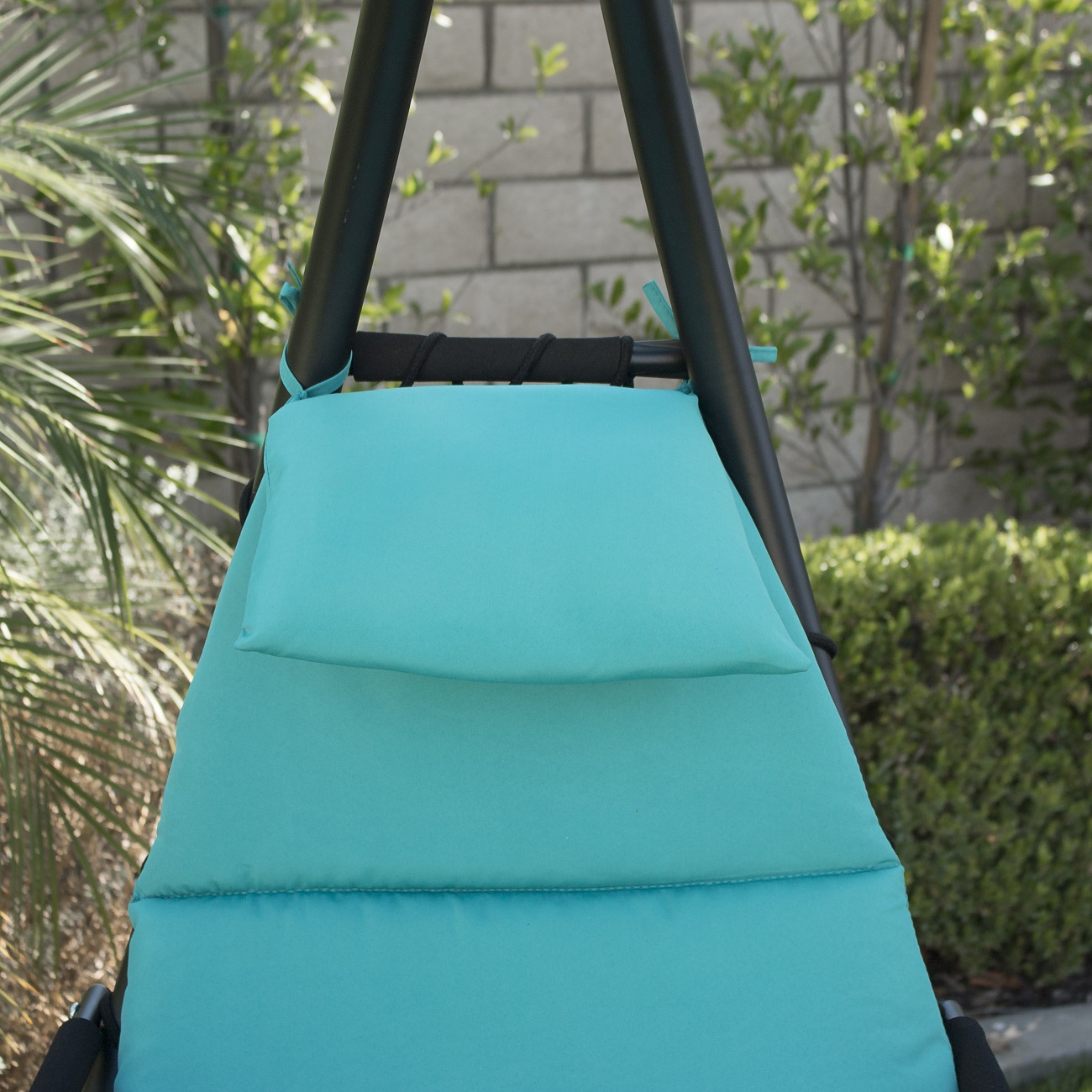 hanging hammock lounge chair designer folding chairs chaise swing canopy glider