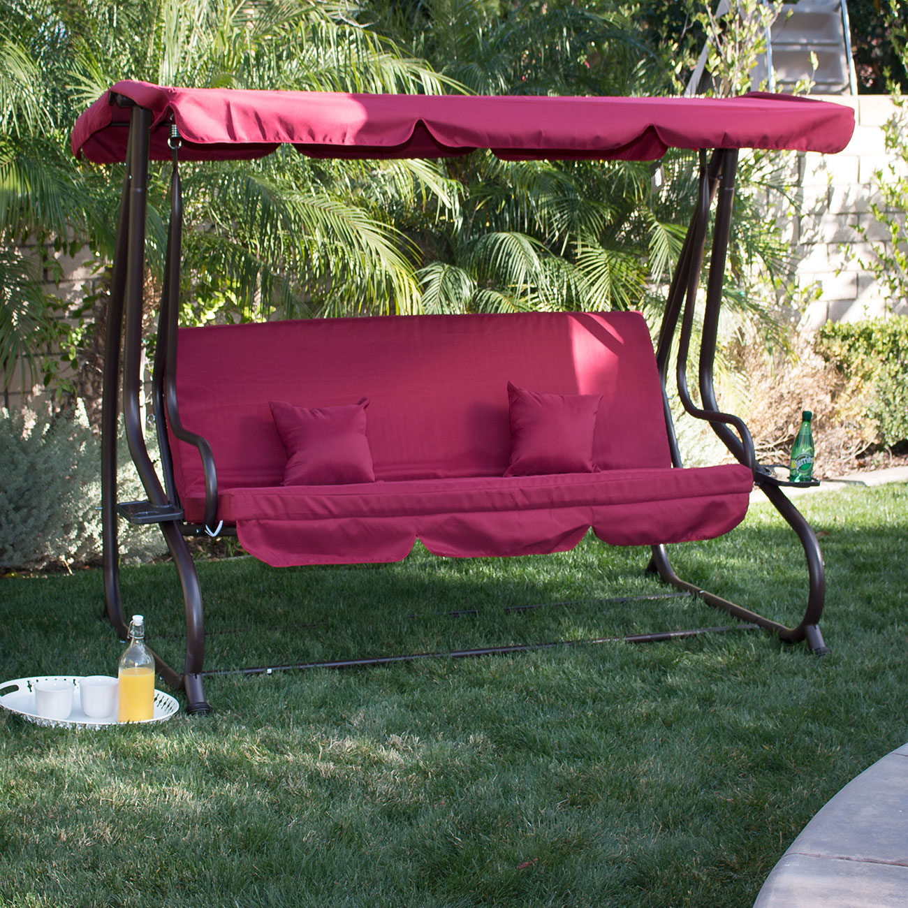 single person hammock chair x rocker gaming cables for xbox one 3 outdoor swing w canopy seat patio