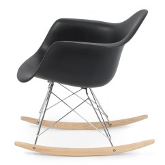 Eames Rocking Chair Wheelchair With Rims New Rocker Indoor Wood Rar Dsw Style