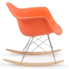 Wood Rocking Chair Styles Desk Chairs Ikea New Eames Rocker Indoor Rar Dsw Style