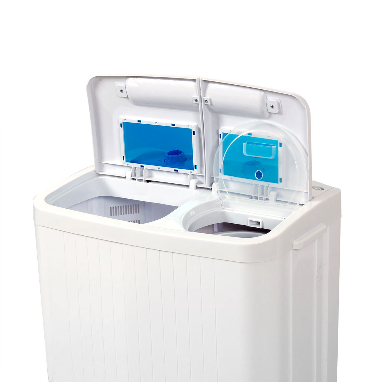 Portable Washing Machine Compact Wash Spin Dry Cycle Laundry with BuiltIn PUMP  eBay