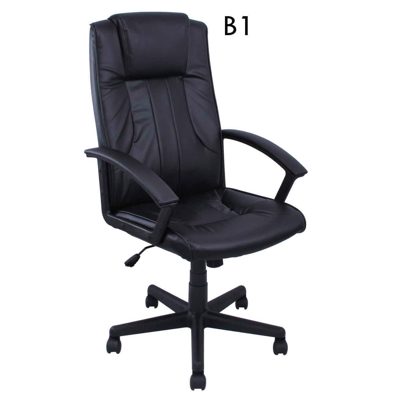 Comfortable Computer Chairs High Back Pu Leather Executive Ergonomic Office Chair Desk