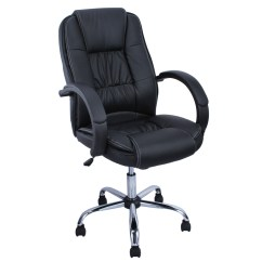 Pu Leather Office Chair Bean Bag Chairs Near Me High Back Executive Ergonomic Desk