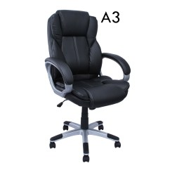 Pu Leather Office Chair Covers Sure Fit High Back Executive Ergonomic Desk