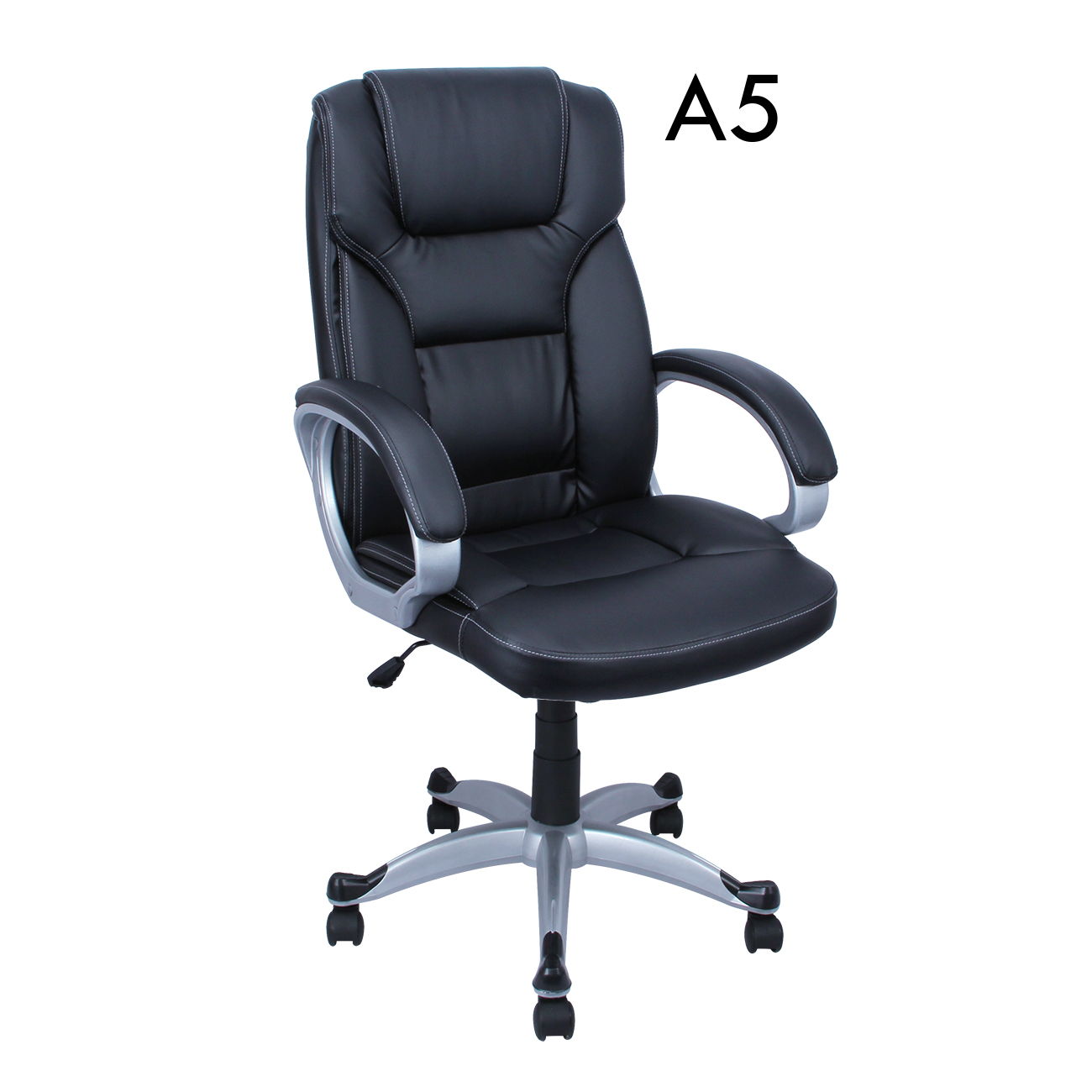 computer chair back outdoor counter high table and chairs pu leather executive ergonomic office desk
