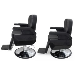 Electric Hydraulic Hair Styling Chairs Chair W Stand Cutting Reclining Barber Spa Salon