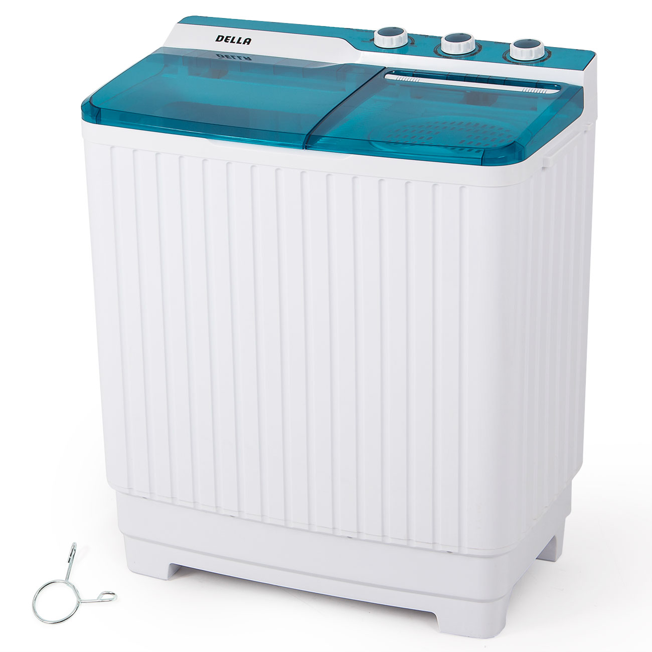 Portable Compact Twin Tub 9KG Washing Machine Washer RV Spin Dryer Top Load  eBay
