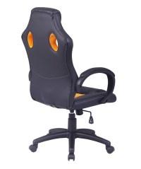 Office Chair Ergonomic Computer Mesh PU Leather Desk Seat ...