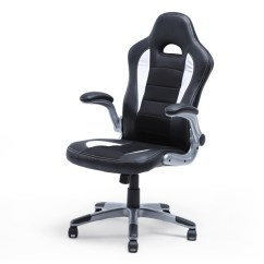 Office Chair Armrest Depot Computer Chairs Racing Bucket Seat High Back Ergonomic Gaming