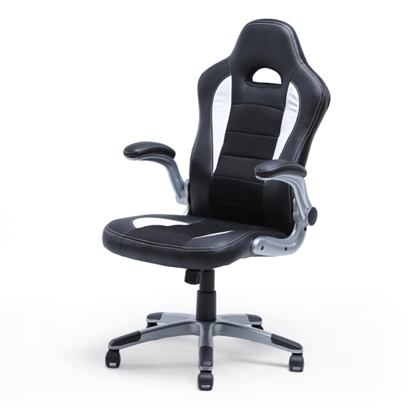 high quality office chairs ergonomic side with arms racing chair bucket seat back gaming