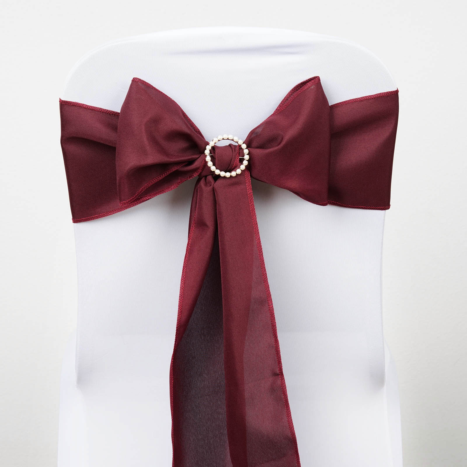 polyester chair sashes wholesale 1950 kitchen table and chairs bows ties wedding reception