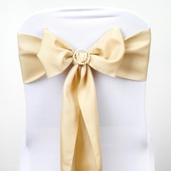 Cheap Chair Covers And Sashes Pottery Barn Doll High Polyester Bows Ties Wedding Reception