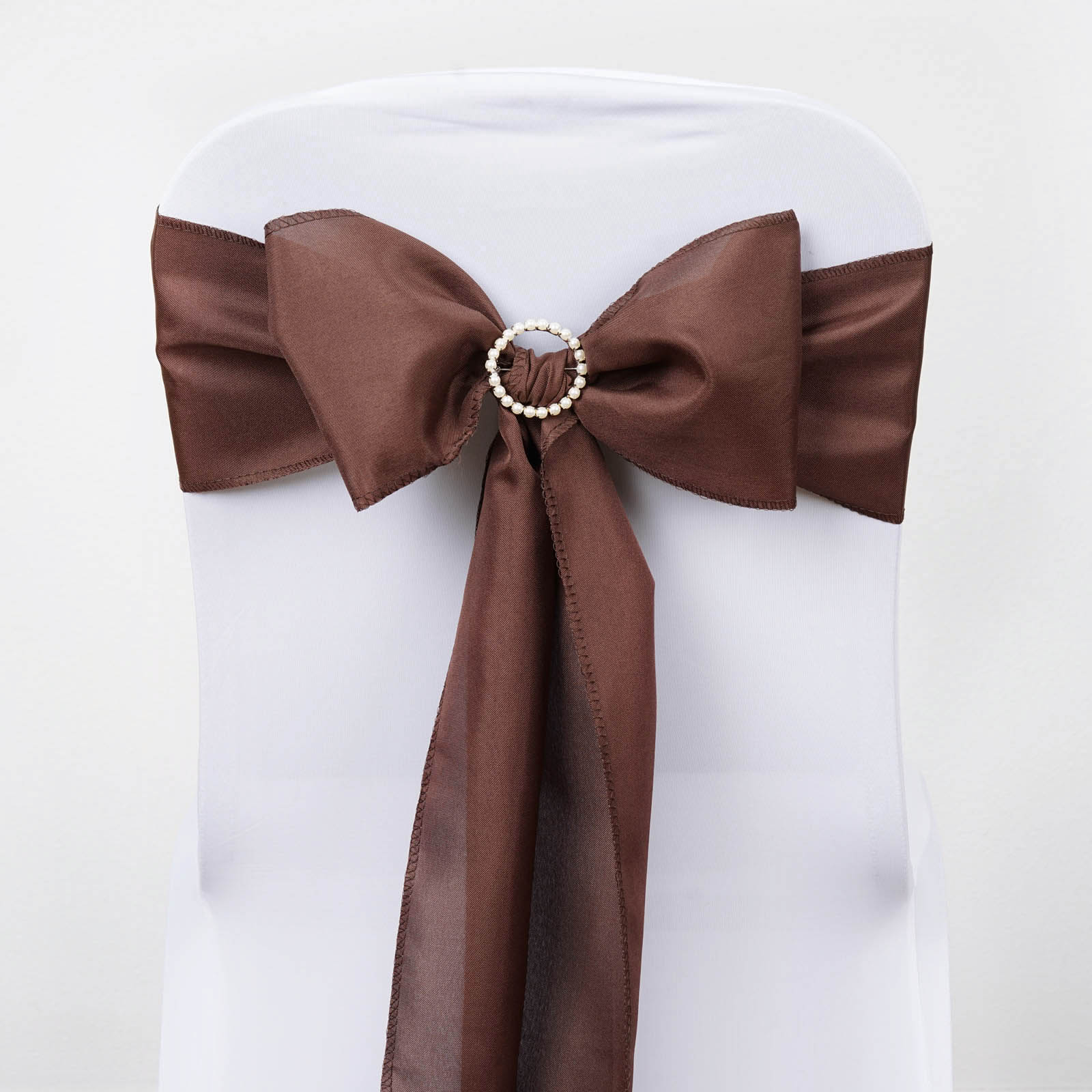 polyester chair sashes wholesale brown leather chairs bows ties wedding reception