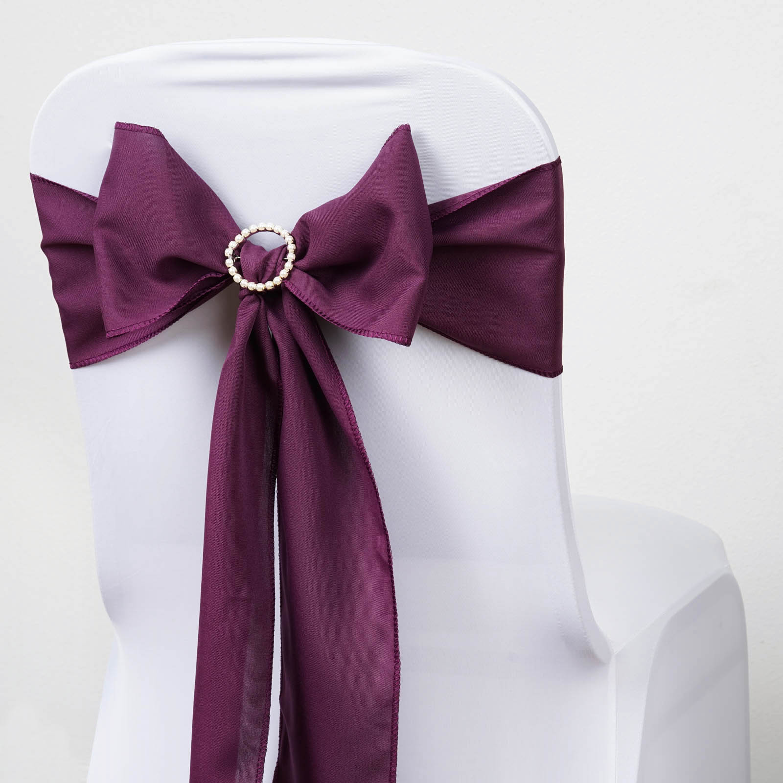 polyester chair sashes wholesale hanging cocoon ikea bows ties wedding reception