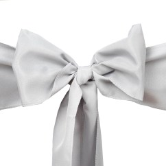 Polyester Chair Sashes Wholesale Ikea Living Room Bows Ties Wedding Reception