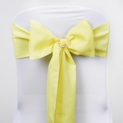 Polyester Chair Sashes Wholesale Hooded Hair Dryer Chairs Bows Ties Wedding Reception