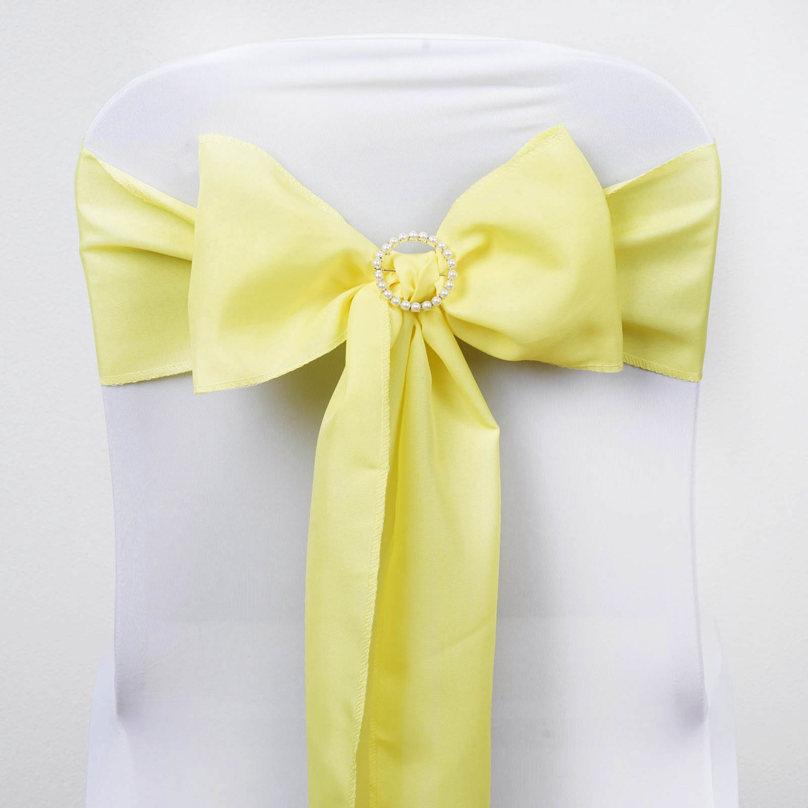 Chair Bows Polyester Chair Sashes Bows Ties Wedding Reception