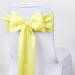 Polyester Chair Sashes Wholesale Hanging From Roof Bows Ties Wedding Reception