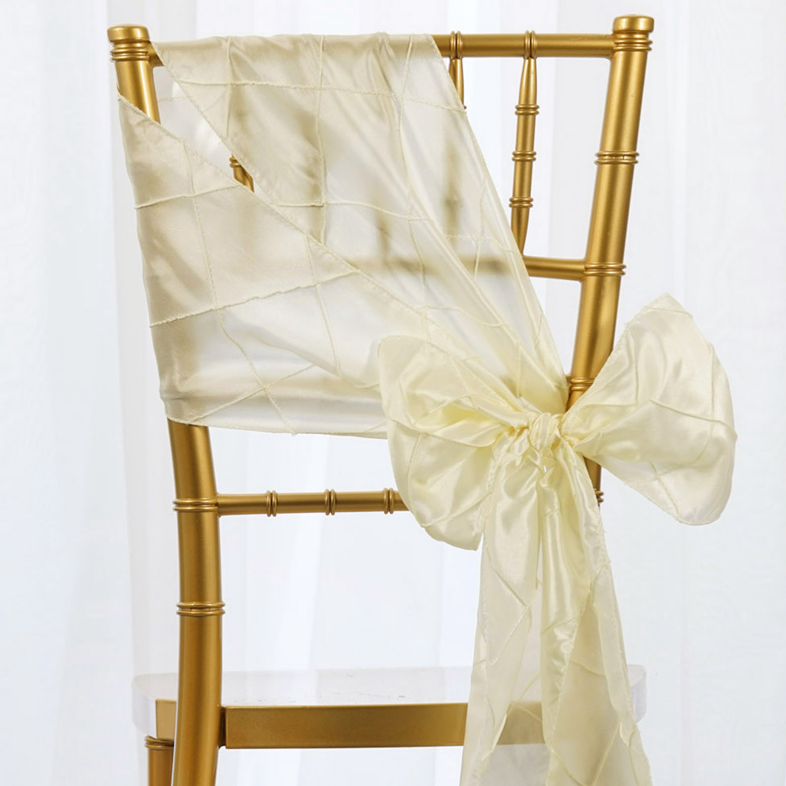 wedding chair covers with bows rental in chennai pintuck sashes ties banquet reception