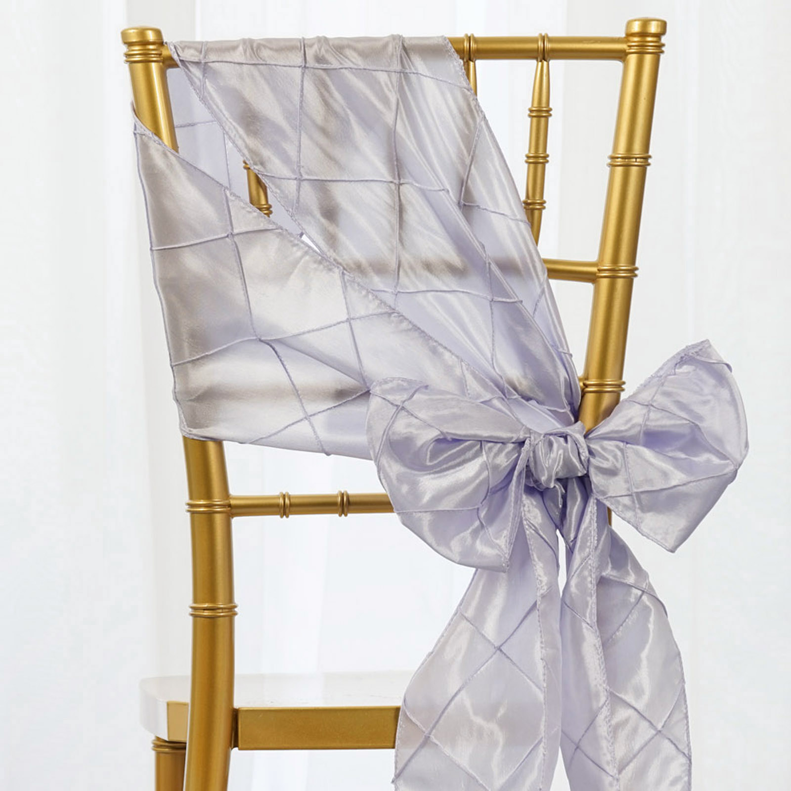Chair Bows Pintuck Chair Sashes Bows Ties Banquet Wedding Reception