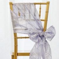 Pintuck CHAIR SASHES Bows Ties Banquet Wedding Reception ...
