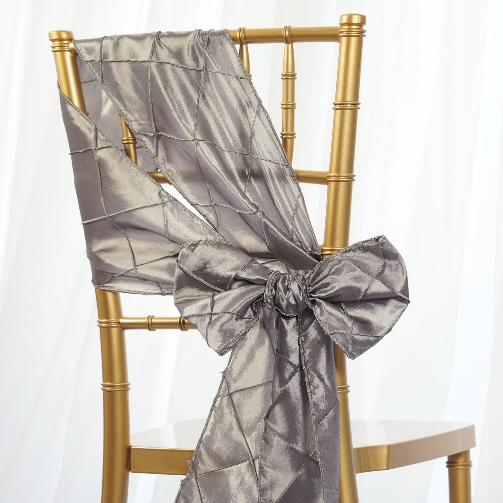cheap chair cover decorations folding rentals nj pintuck sashes bows ties banquet wedding reception