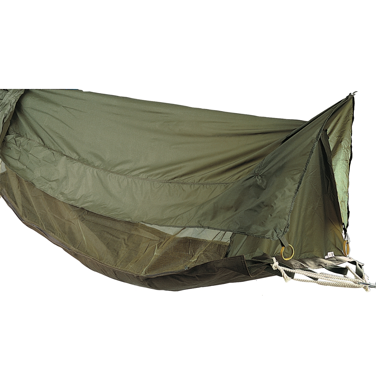 Military Style Jungle Hammock Shelter Mosquito Bug Netting