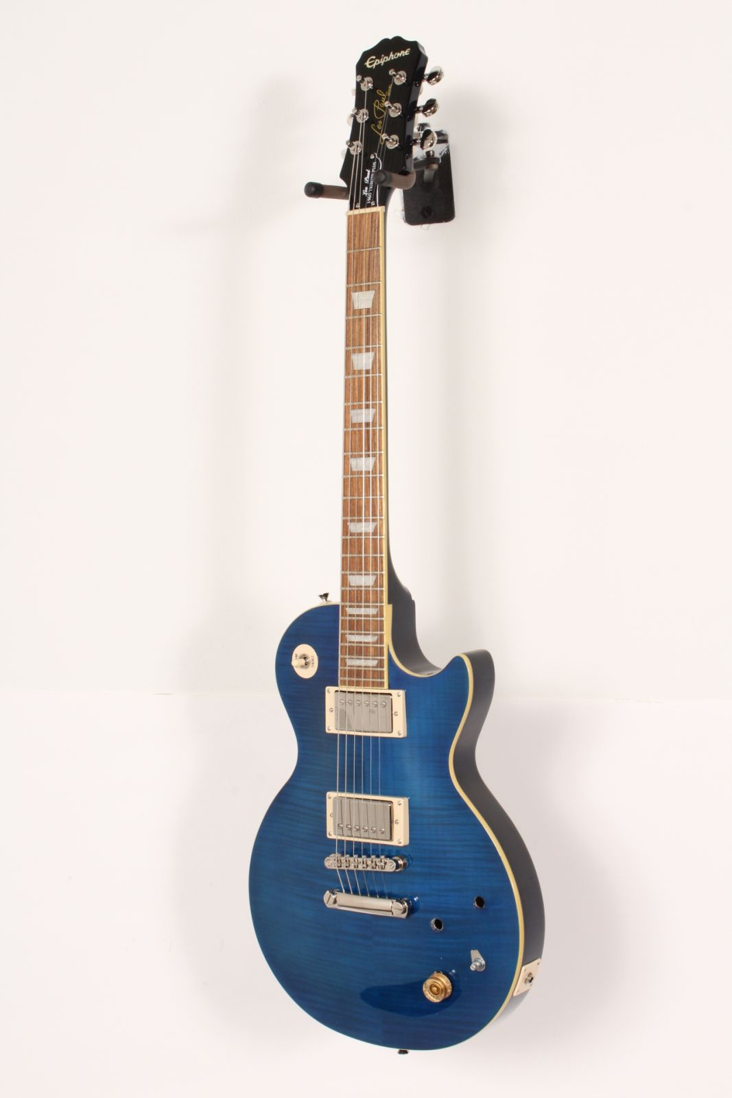 hight resolution of details about epiphone les paul tribute plus electric guitar midnight sapphire